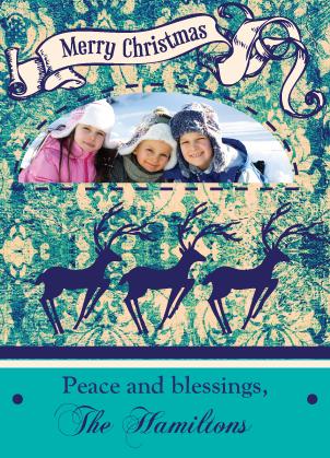 Christmas Cards - Reindeer