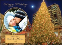 Holiday Cards - city tree in faneuil hall