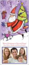 Holiday Cards - santa's glee