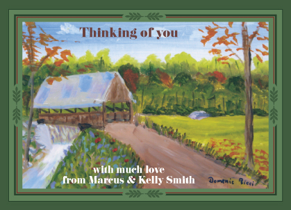 Holiday Cards - Country Road