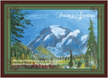 Holiday Cards - mountain view