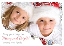 Christmas Cards - merry and bright