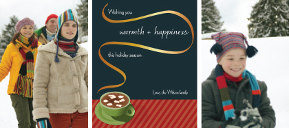 Holiday Cards - Warmth & Happiness
