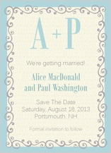 Save the Date Card - prescott park