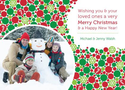 Christmas Cards - Christmas Bubbles