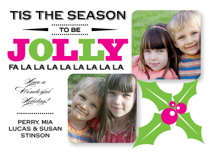 Christmas Cards - Be Jolly