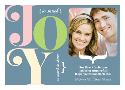 Christmas Cards - Joy to Share