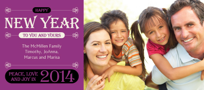 New Year's Cards - New Years Jewels