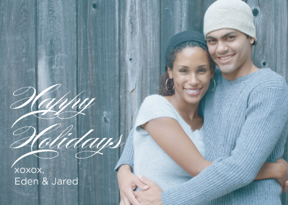 Holiday Cards - Simple Greeting