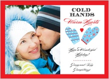 Holiday Cards - warm hearts