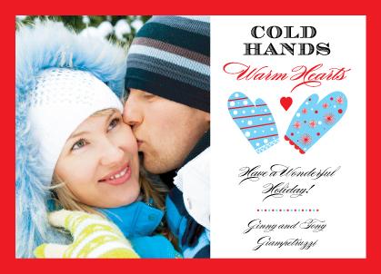 Holiday Cards - Warm Hearts