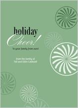 Holiday Cards - holiday cheer! green