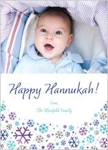 Hanukkah Cards - let it snow