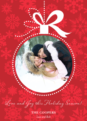Holiday Cards - Snow Ball