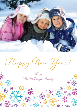 New Year's Cards - Let It Snow