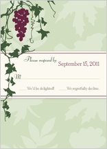 Response Card - grapes