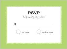 Response Card - caribbean wedding