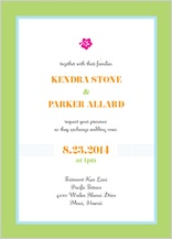 Wedding Invitation - destination hawaii