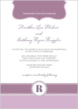 Wedding Invitation - beautiful