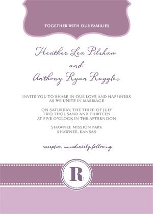 Wedding Invitation - Beautiful
