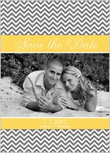 Save the Date Card with photo - sugar - save the date