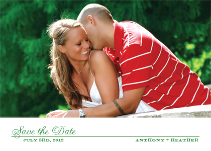 Save the Date Card with photo - Sweetie - Save the Date