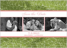 Save the Date Card with photo - sweetpea - save the date