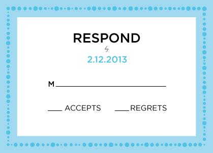 Response Card - Simply Cirque