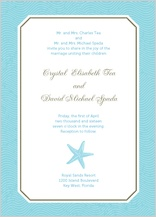 Wedding Invitation - la isla bonita