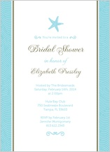 Wedding Shower Invitation - la isla bonita