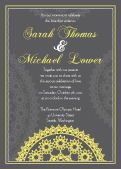 Wedding Invitation - Celebration