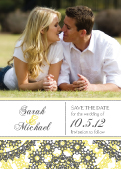 Save the Date Card with photo