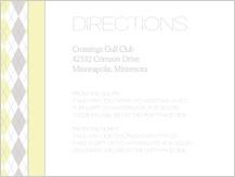 Direction - classic argyle
