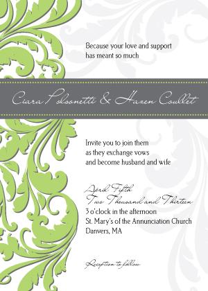 Wedding Invitation - Foliole