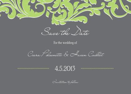 Save the Date Card - Foliole