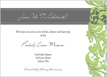 Reception Card - foliole