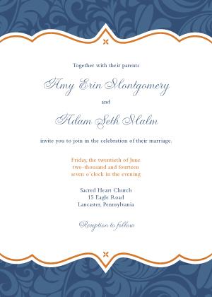 Wedding Invitation - Eleganza