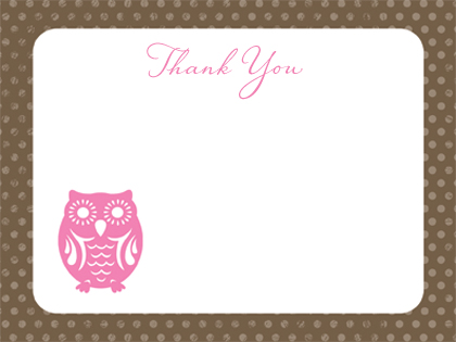 Thank You - Owl Thanks