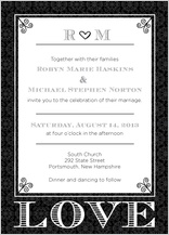Wedding Invitation - love