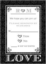Response Card - love