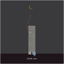 Baby Thank You Card - all_night_baby