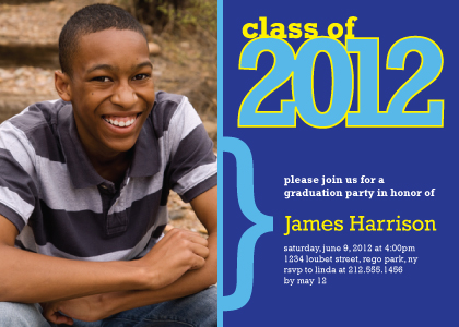 Graduation Party Invitation - class of 2012