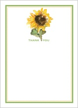 Thank You - thank a sunflower