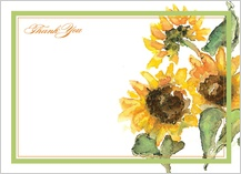 Thank You - thank another sunflower