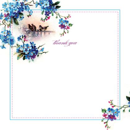 Thank You - sweet birdy