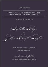 Save the Date Card - lux reverse