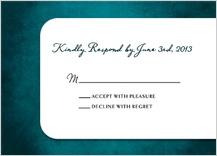Response Card - treasured