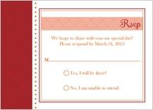 Response Card - hearts