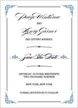 Save the Date Card - traditions