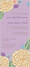 Wedding Invitation - blooming gold